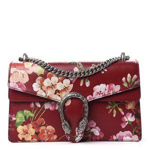 Gucci Small Dionysus Blooms Leather Shoulder Bag i